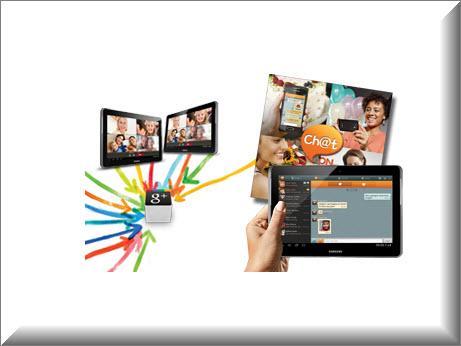 Tablet Samsung P5100 3G, comunicacion