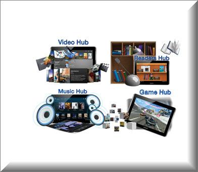 Tablet Samsung P5100 3G, multimedia