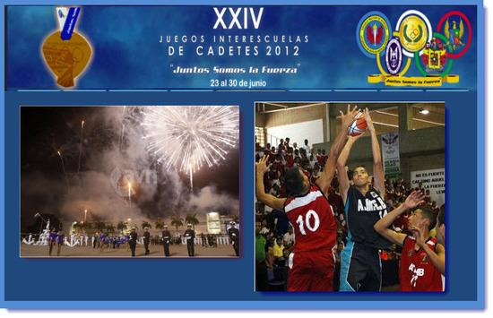 XXIV Juegos Interescuelas de Cadetes