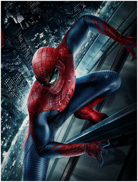 el nuevo hombre araña es protagonizado por Andrew Garfield como Peter Parker