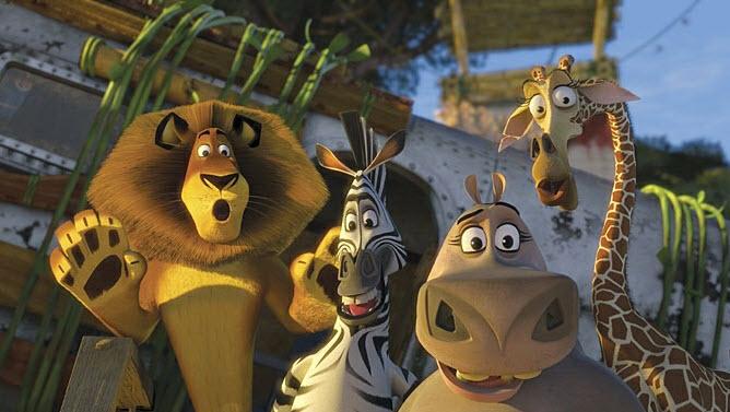 película Madagascar