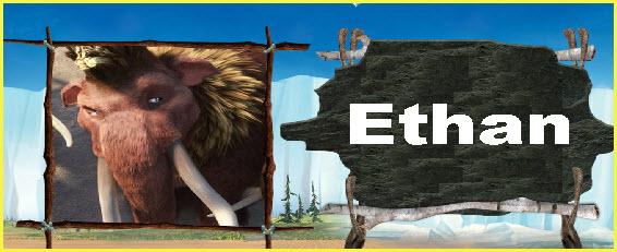 Personaje película la era del hielo 4 Ethan
