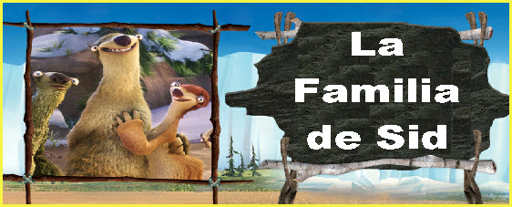 Personaje pelicula la era del hielo 4 - La Familia