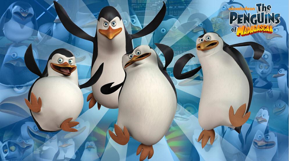 Madagascar los pinguinos 3