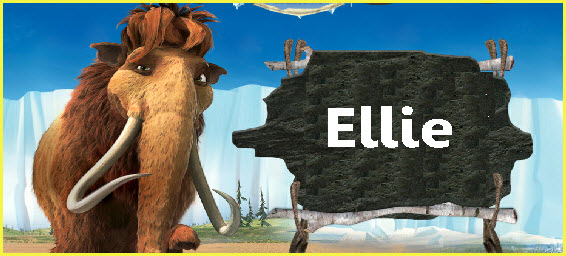película la era del hielo 4, mamut Ellie