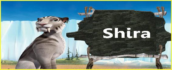 Personaje película la era del hielo 4 Shira