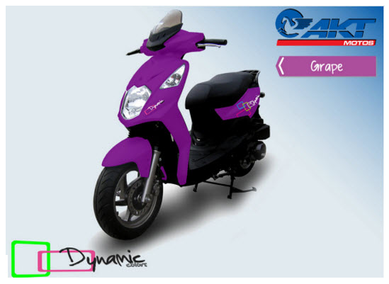 Akt Dynamic Colors grape