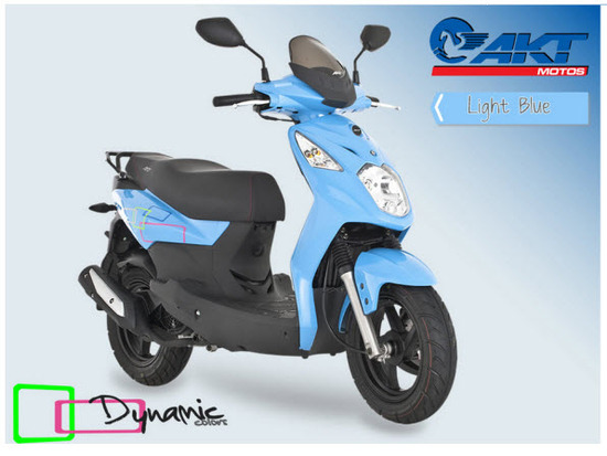 Akt Dynamic Colors,  light blue