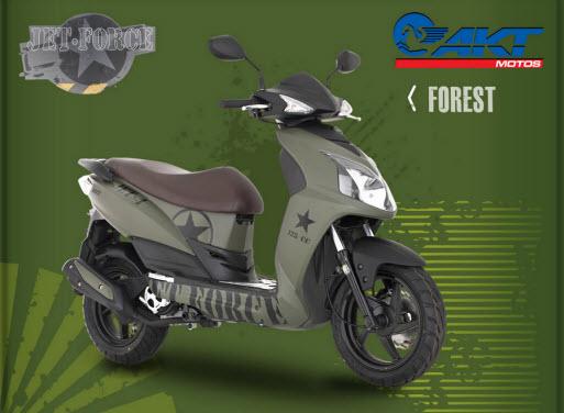 Akt Jet 4 Force, color forest