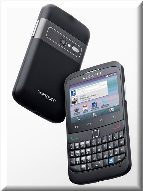 Alcatel One Touch Smart 916, diseno exterior