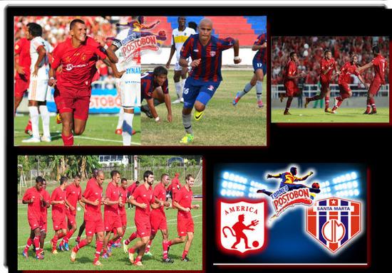 América de Cali VS Unión Magdalena 2012