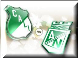 Cali Vs Atlético Nacional Liga Postobon Colombia
