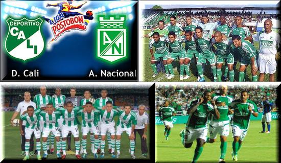 Cali Vs Atlético Nacional 2012