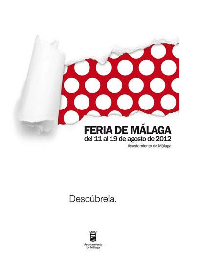 Cartel Feria de Málaga 2012