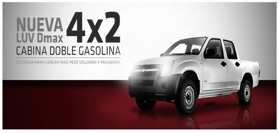 Chevrolet Luv Dmax 4x2 2013, doble cabina