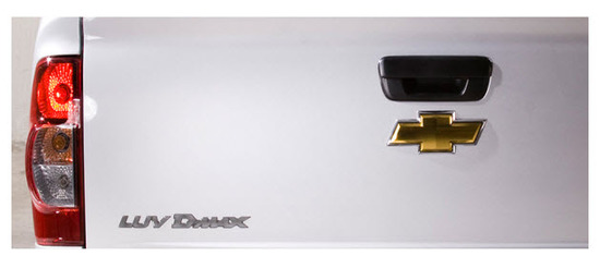 Chevrolet Luv Dmax 4x2 2013 ,vista parte trasera