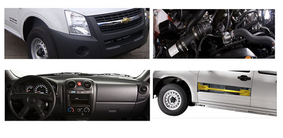 Chevrolet Luv Dmax Chasis