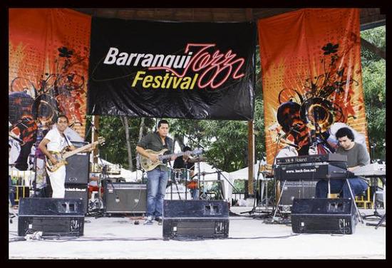 concurso de bandas Barranquijazz Festival 2012