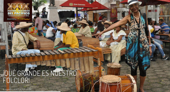 Festival Folclórico del Pacífico en Buenaventura 2012
