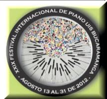 XXIX Festival Internacional de Piano en Bucaramanga 2012