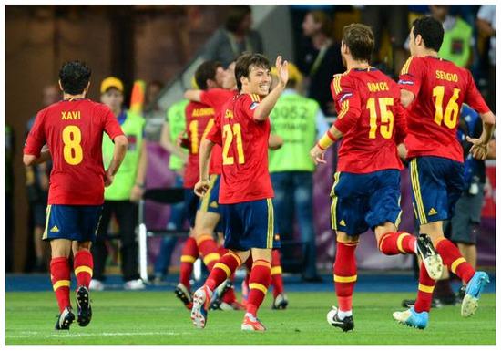 Imagen España Campeón Eurocopa 2012