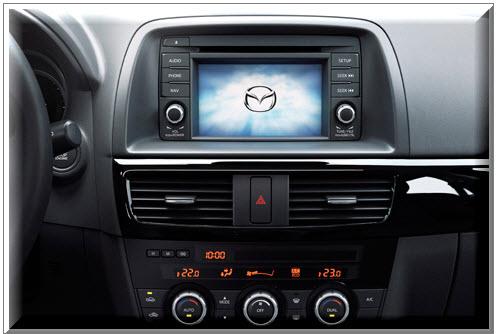 Mazda CX-5 2013, parte interior