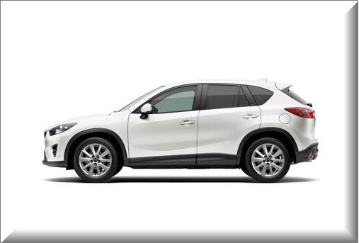 Mazda CX-5 2013 ,vista lado izquierdo