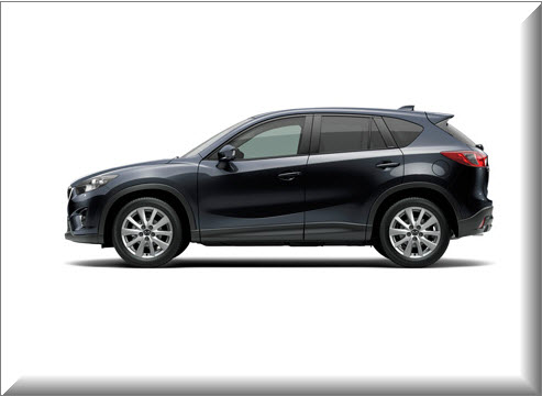 Mazda CX-5 2013, vista lateral
