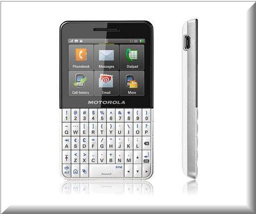 Motorola Motokey XT EX 118, diseno