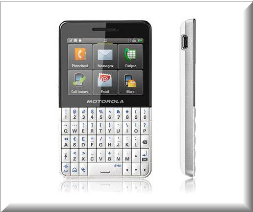 Motorola ex118 - Motorola tactil