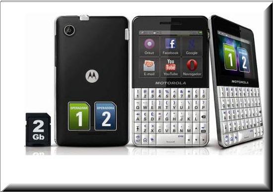 Motorola Motokey XT EX 118, memoria 2gb