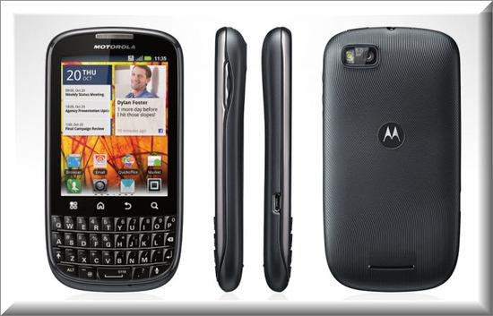 Motorola PRO, diseno exterior