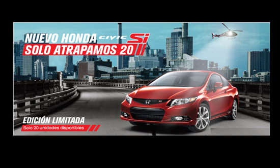 Honda Civic Si 2DR