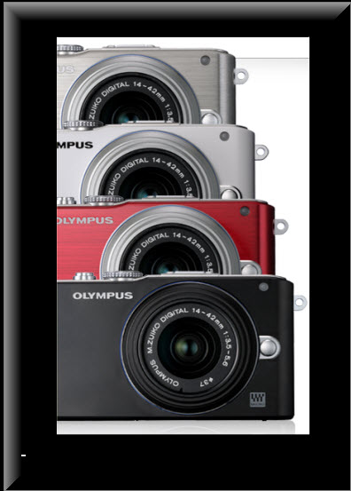 Olympus PEN E-PL3, colores