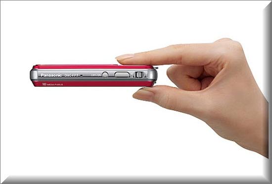 Panasonic Lumix DMC-FP7, ultra plana