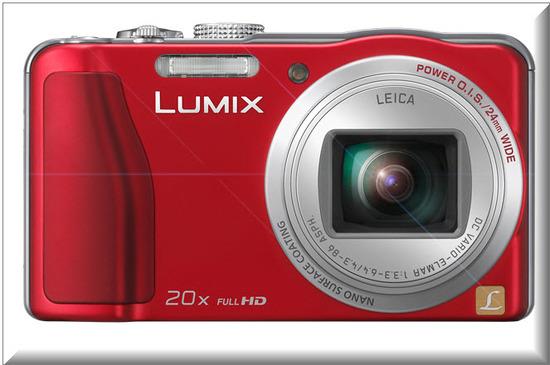 Panasonic Lumix DMC-ZS20, diseno exterior