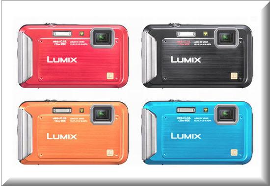 Panasonic Lumix TS20,colores