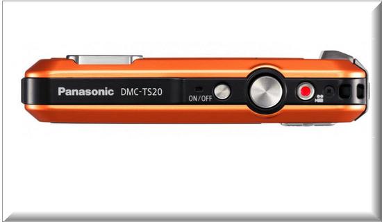Panasonic Lumix TS20, diseno exterior