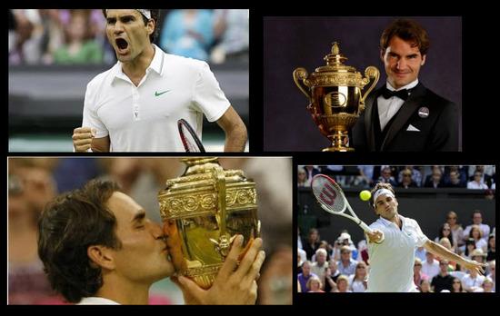 Roger Federer  Winbledom 2012
