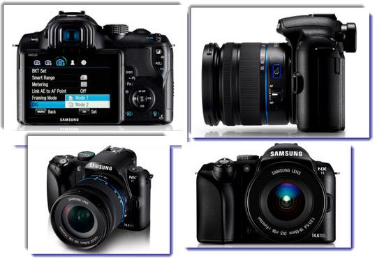 Cámara Samsung NX11