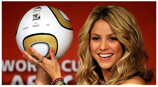 Shakira Copa Mundial Sub 17 Fútbol Femenino 2012