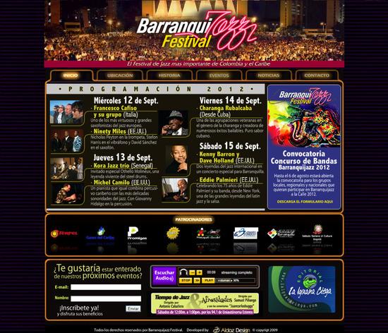 Barranquijazz Festival 2012