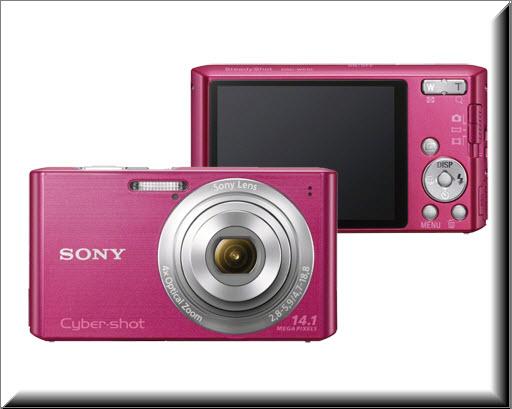 Sony DSC-W610, vista exterior