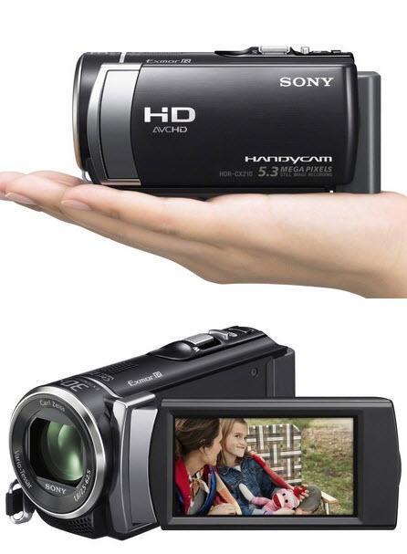 Sony HandycamHDR CX210