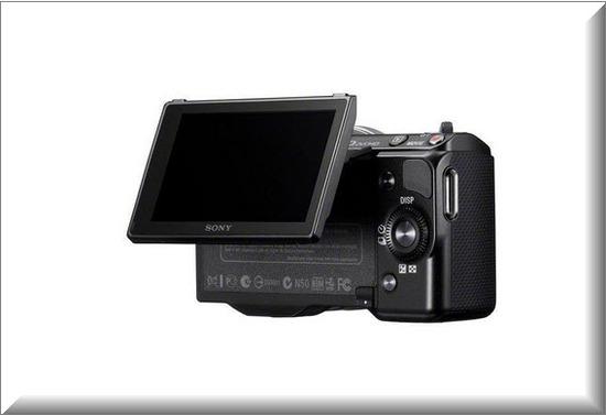 Sony Nex 5NK, giratorio