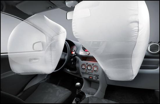 Suzuki Celerio, airbags