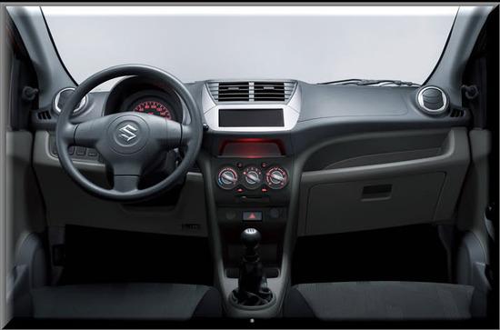 Suzuki Celerio, diseno interior