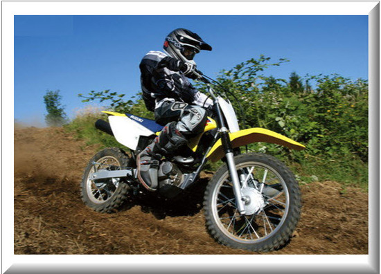 Suzuki DRZ 125L, desempeño