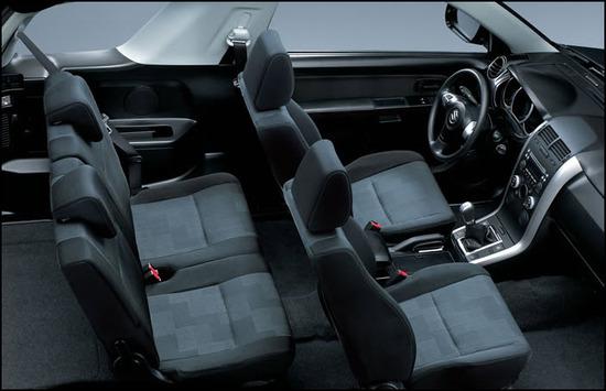 Suzuki Grand Vitara 3, puertas asientos
