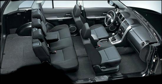 Suzuki Grand Vitara 5 puertas, asientos